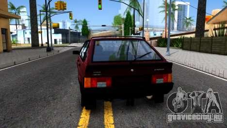 ВАЗ-21096 для GTA San Andreas вид сзади слева