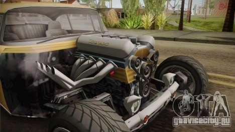 GTA 5 Declasse Tornado Rat Rod Cleaner для GTA San Andreas