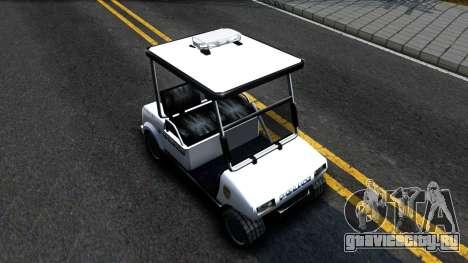 Caddy Metropolitan Police 1992 для GTA San Andreas вид справа