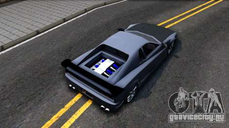 Str1keZs Cheetah для GTA San Andreas вид сзади