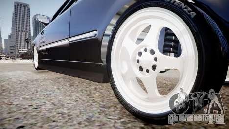 Honda Civic EK9 для GTA 4 вид сзади