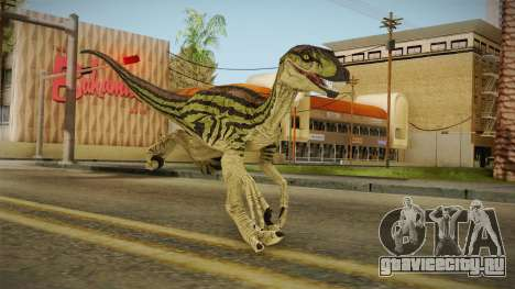 Primal Carnage Velociraptor Ivy Striped для GTA San Andreas