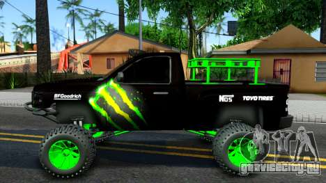Chevrolet Silverado Monster Energy V2 для GTA San Andreas вид слева