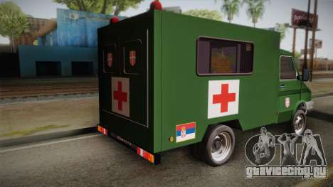 Zastava Rival Military Ambulance для GTA San Andreas