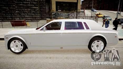 Rolls-Royce Phantom EWB Dragon Edition 2012 для GTA 4 вид слева