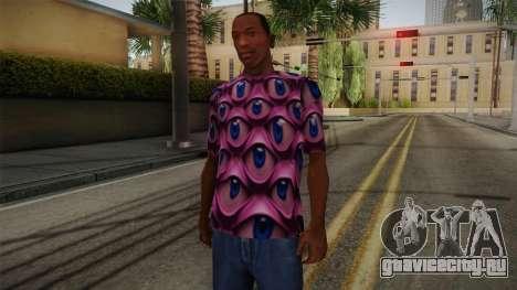 Psychedelic T-Shirt для GTA San Andreas
