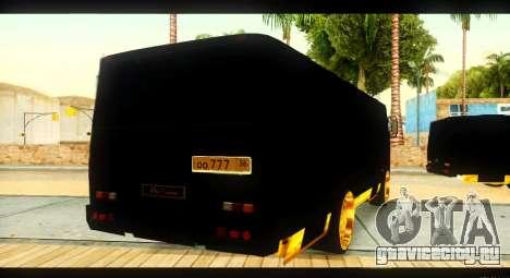 ПАЗ 4234 Elite Gold для GTA San Andreas вид сбоку