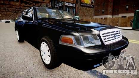 Ford Crown Victoria FBI для GTA 4