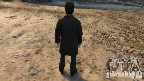 Harry Potter Suit для GTA 5 третий скриншот
