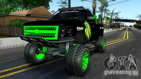 Chevrolet Silverado Monster Energy V2 для GTA San Andreas