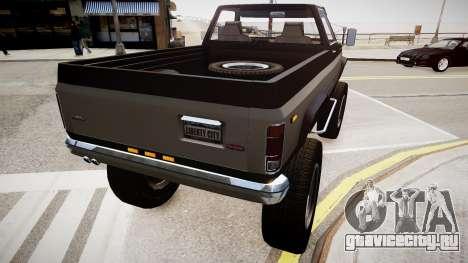 Rancher V3 для GTA 4 вид слева