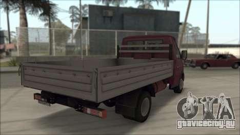 ГАЗель Бизнес 3302 для GTA San Andreas вид слева