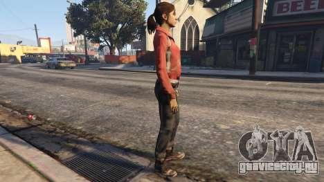 Left4Dead 1 Zoey для GTA 5 второй скриншот