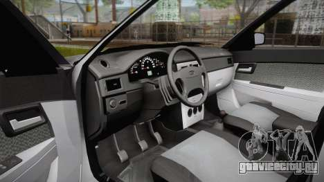 ВАЗ 2172 Приора для GTA San Andreas вид сзади