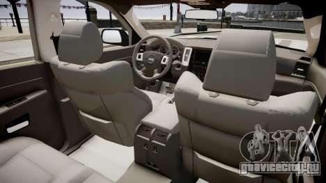 Jeep Grand Cherokee SRT8 v.1.1 для GTA 4 вид изнутри
