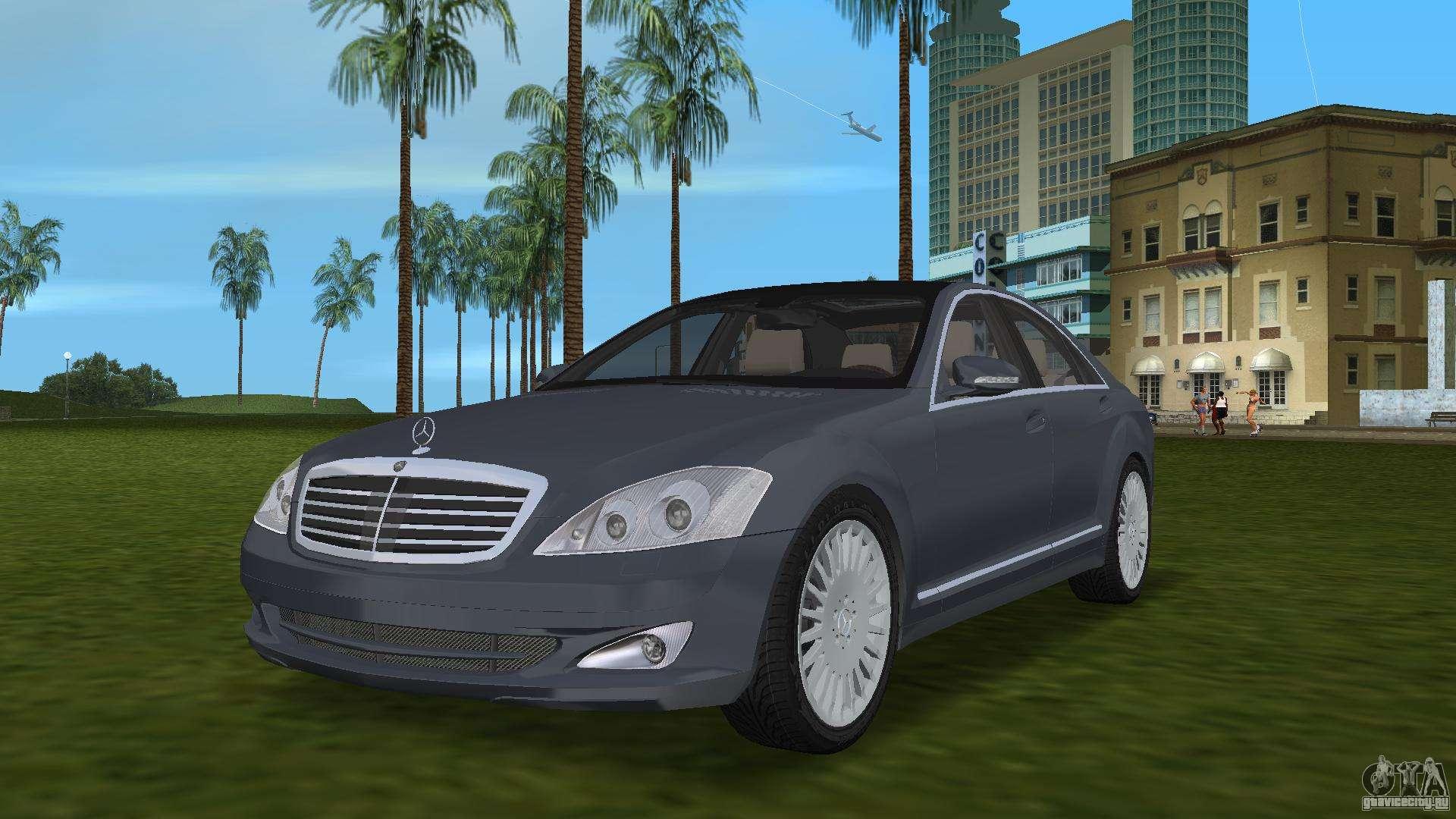 Mercedes benz s500 w221 2006 gta vice city for Mercedes benz city