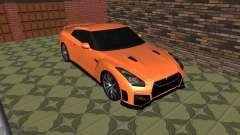 Nissan GT-R 35 Рестайлинг