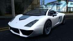 GTA V Pegassi Vacca 9F Roadster
