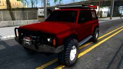Nissan Patrol Y60 Off-road для GTA San Andreas