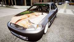 Honda Civic EK9 для GTA 4