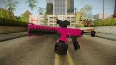 GTA 5 Combat PDW Pink для GTA San Andreas