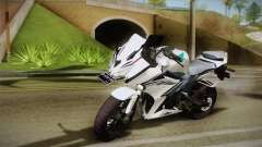 Honda CBR150R 2016 White Row для GTA San Andreas