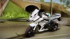Honda CBR150R 2016 White Row