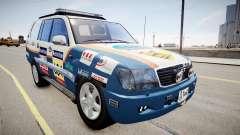 Toyota Land Cruiser GINAF Dakar Service Car