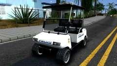 Caddy Metropolitan Police 1992 для GTA San Andreas