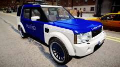 Land Rover Discovery 4 Estonian Police