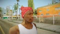 Новогодняя шапка для GTA San Andreas