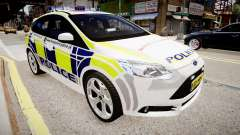 Ford Focus 2013 Swedish Police для GTA 4