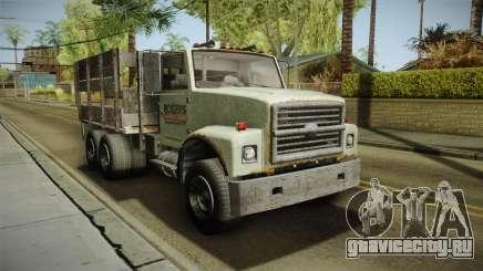 GTA 5 Vapid Scrap Truck v2 IVF для GTA San Andreas