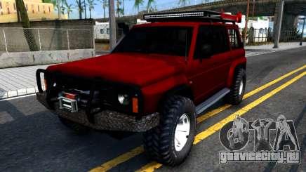 Nissan Patrol Y60 Off-road для GTA San Andreas