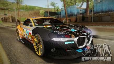 BMW CSL Hommage R 2015 GSR Project Mirai для GTA San Andreas