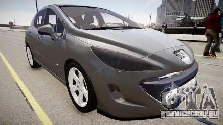 Peugeot 308 GTi 2011 для GTA 4