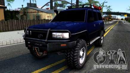 Toyota Land Cruiser 80 для GTA San Andreas