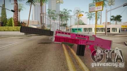GTA 5 Assault Shotgun Pink для GTA San Andreas
