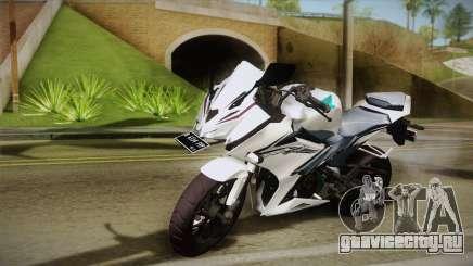 Honda CBR150R 2016 White Row для GTA San Andreas