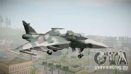 EMB J-39C Gripen NG FX-2 FAB для GTA San Andreas