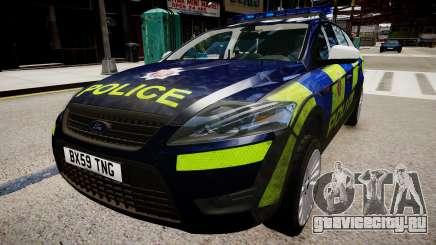 Ford Mondeo Estate police UK для GTA 4