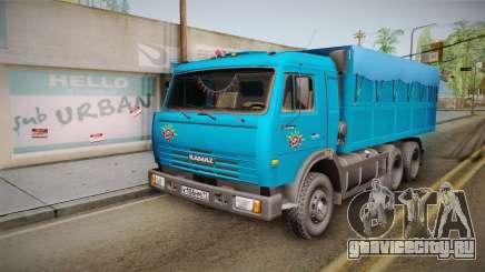 КамАЗ 54115 Самосвал для GTA San Andreas