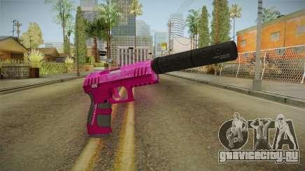 GTA 5 Combat Pistol Pink для GTA San Andreas
