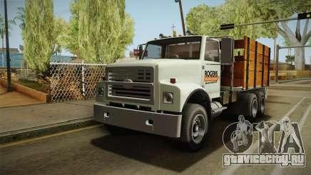 GTA 5 Vapid Scrap Truck Cleaner v2 для GTA San Andreas