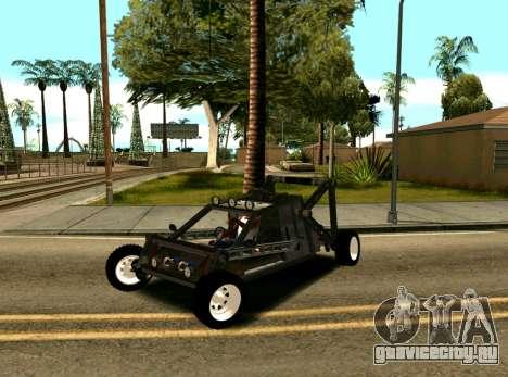 Off Road Car для GTA San Andreas вид сзади