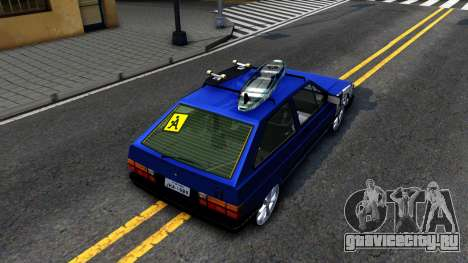 Volkswagen Gol GTI Troll Face для GTA San Andreas вид сзади