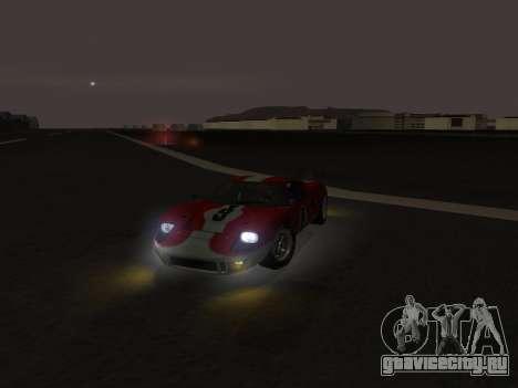 Ford GT40 для GTA San Andreas вид справа