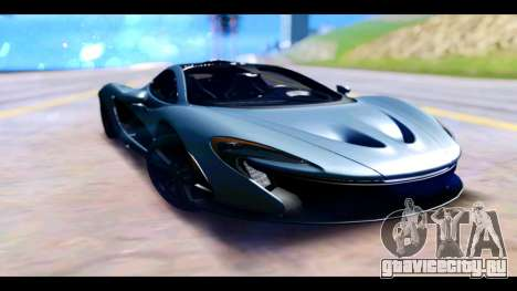McLaren P1 для GTA San Andreas