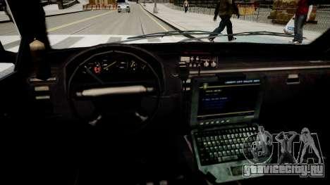 Police Cruiser [ELS] для GTA 4 вид изнутри