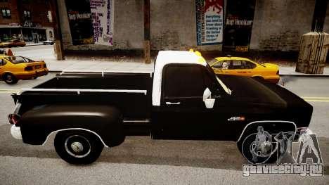 GMC 454 Pick-Up для GTA 4 вид слева